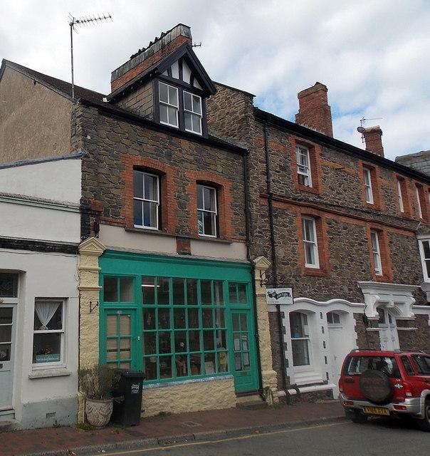 John Arbon Textiles shop in Lynton