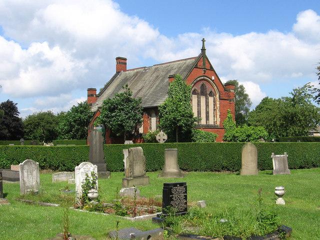 Moorthorpe - cemetery chapel