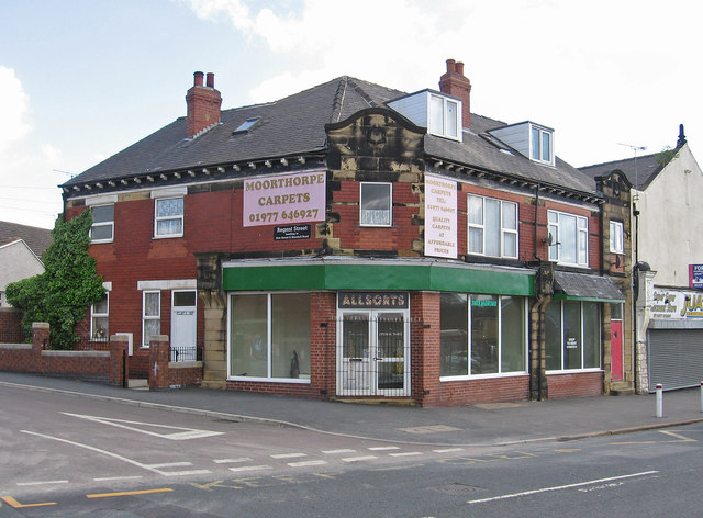 Moorthorpe - former carpet shop