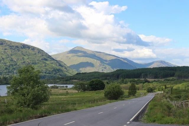 A819 heading for Dalmally