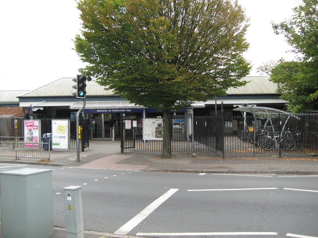 Other side of the station 1-Cheltenham, Glos