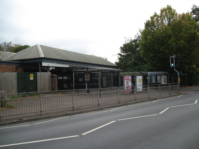 Other side of the station 2-Cheltenham, Glos