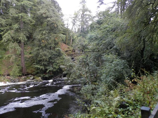 The Braan below The Hermitage near Dunkeld