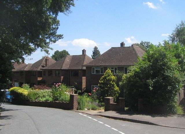 Houses on Fernhill Lane