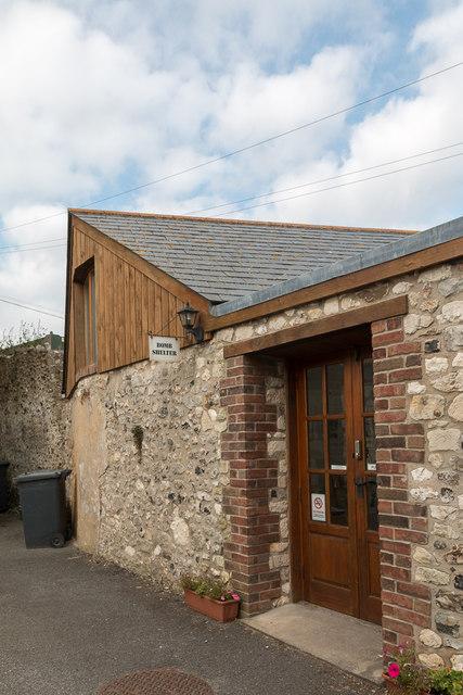 Former Bomb Shelter, Beer, Devon