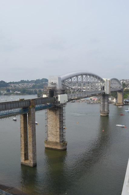 I K Brunel's Saltash Bridge