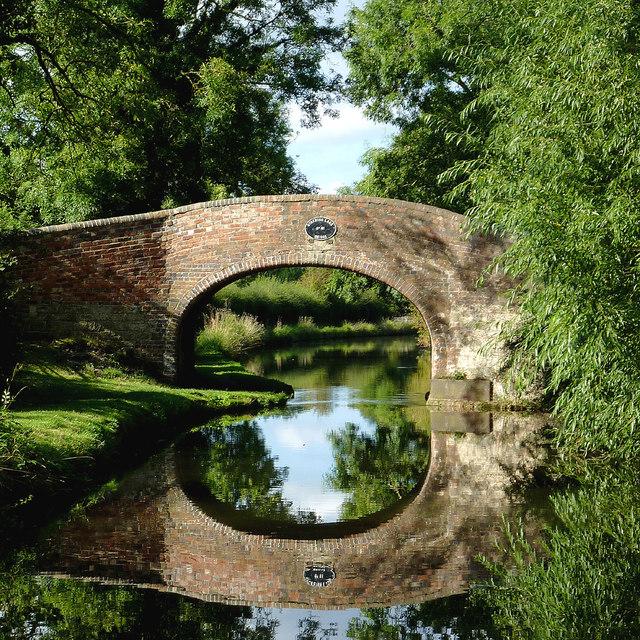 Otherton Lane Bridge near Penkridge, Staffordshire