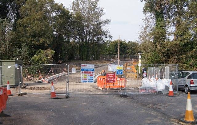 New station/car park access