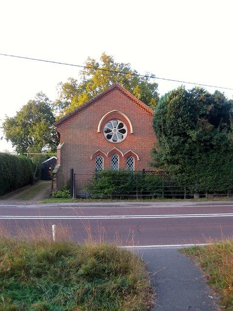 Bolney Providence Chapel, Cowfold Road, Crosspost