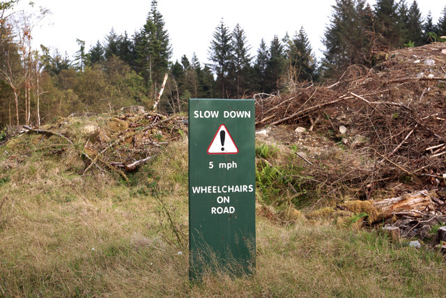An unusual road-sign