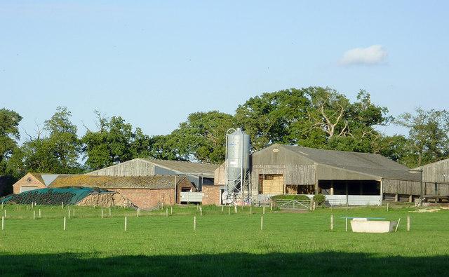 Farm buildings east of Penkridge, Staffordshire