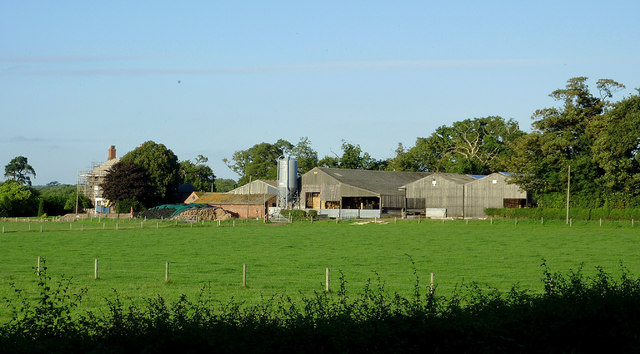 Farm buildings east of Penkridge, Staffordshire