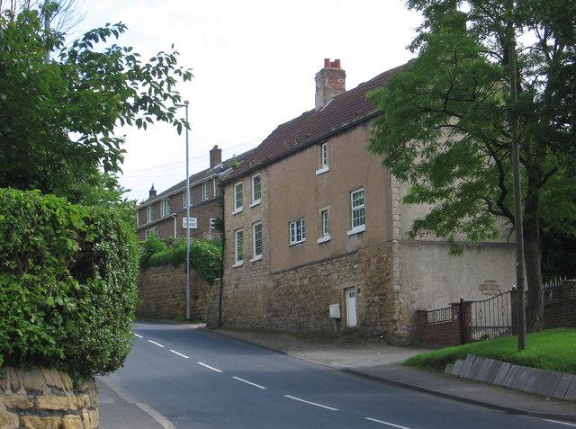 South Elmsall - stone-built house on High Street