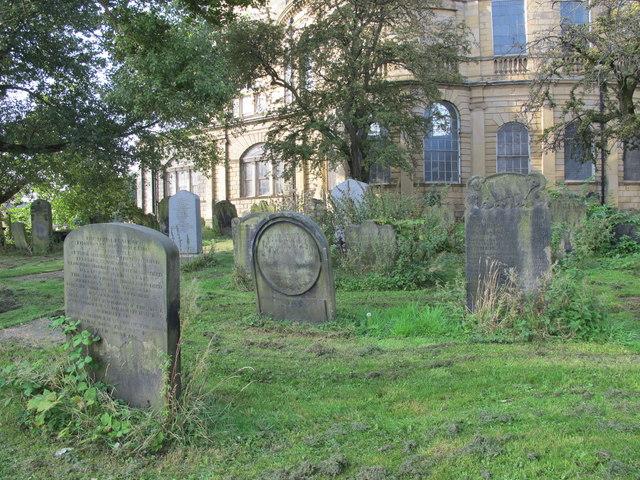 All Saints Church, Pilgrim Street - churchyard (2)