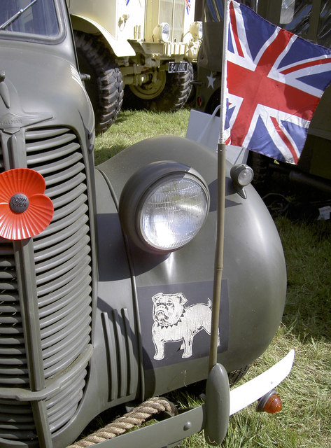 British as a bulldog