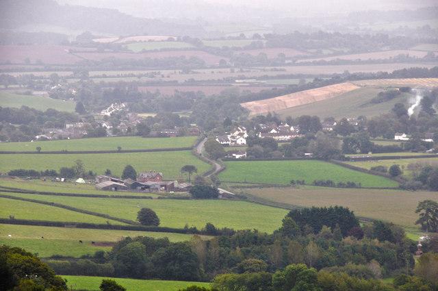 Mid Devon : Thorverton Scenery