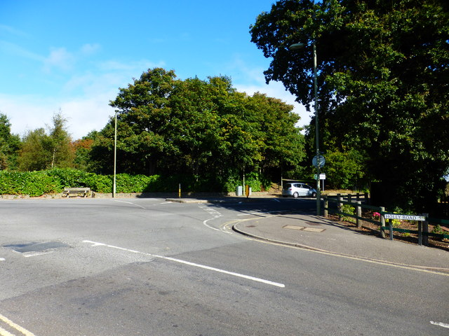 Junction of Holly and Redan Roads