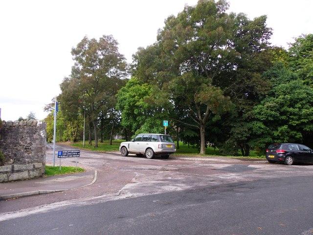 Rubislaw Park street junction