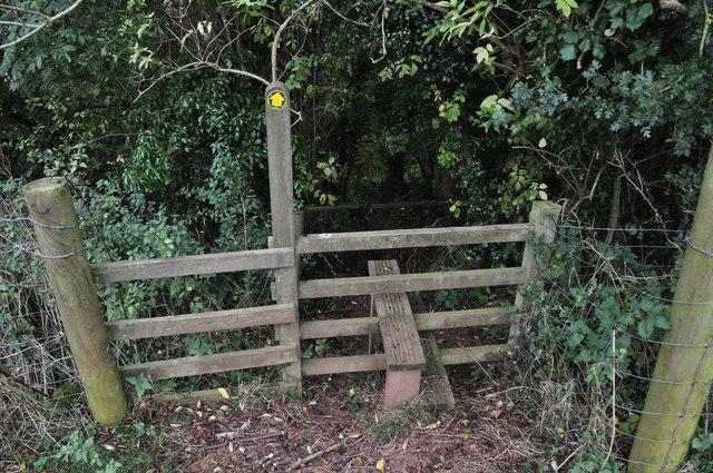 Mid Devon : Footpath Stile