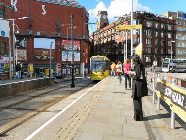 Shudehill Tram Stop