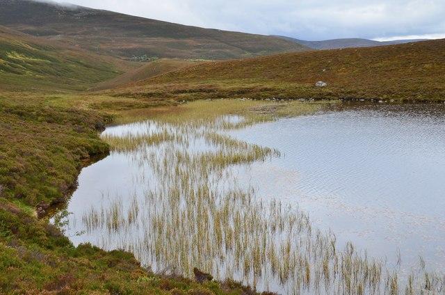 Southeast side of Lochan na Beinne