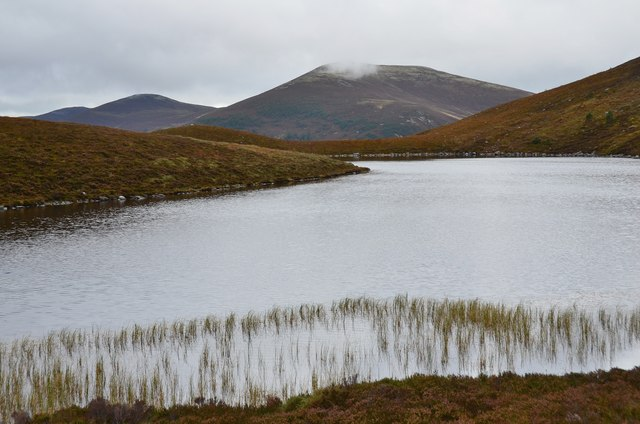 Meall a' Bhuachaille from Lochan na Beinne