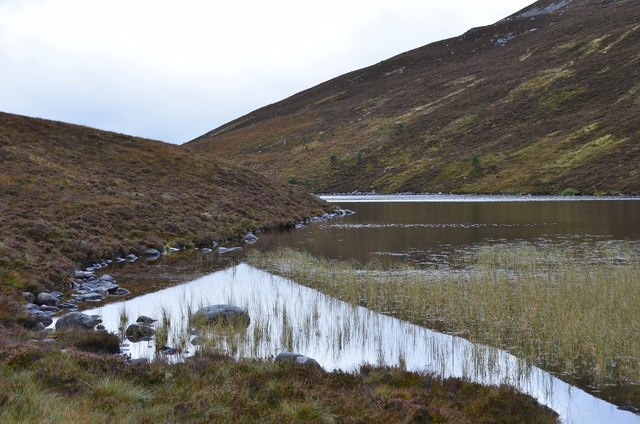 Southern end of Lochan na Beinne