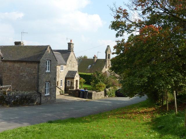 Upper Elkstone village
