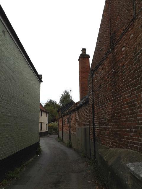 Castle Lane, Bungay