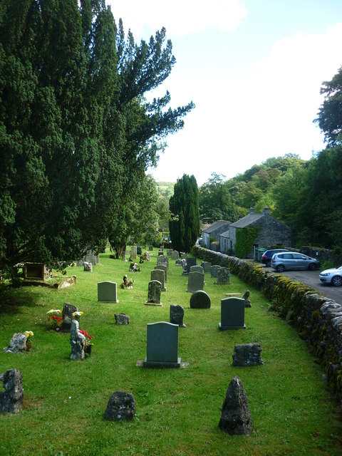 From St Michael's churchyard to the village