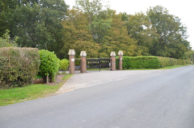 Entrance to Mayfield Grange
