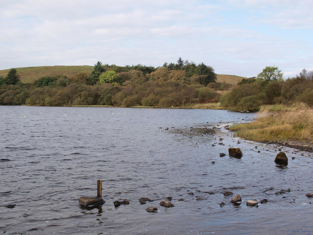North end of Black Loch