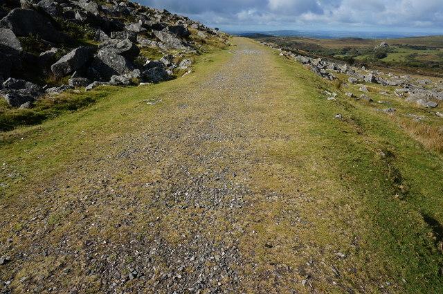 Part of the Dartmoor Way