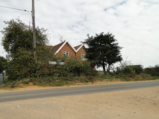 Houses on the crossroads