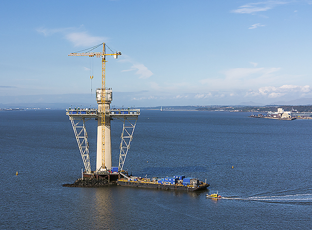 River Forth and Queensferry Crossing