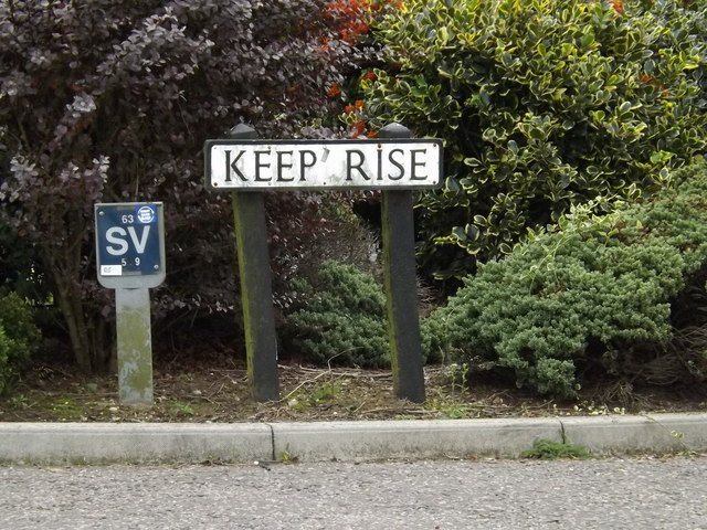 Keep Rise sign