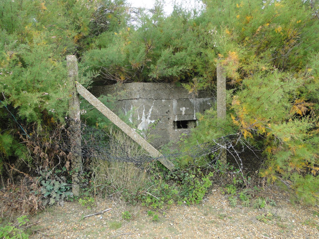 Type FW3/22 pillbox protecting Bawdsey Manor