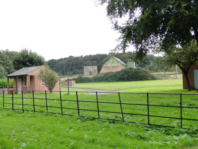 Military buildings on Bawdsey Manor estate