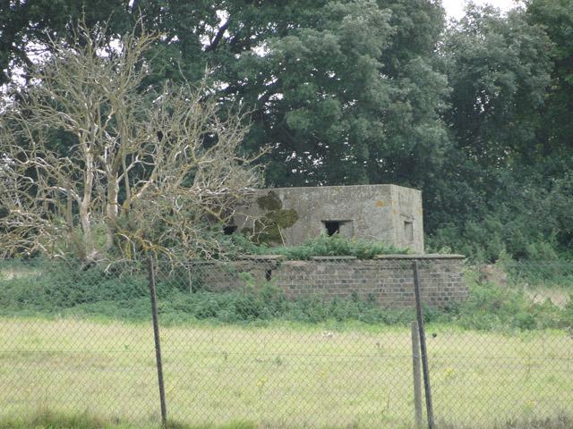 Pillbox on Bawdsey Manor Estate