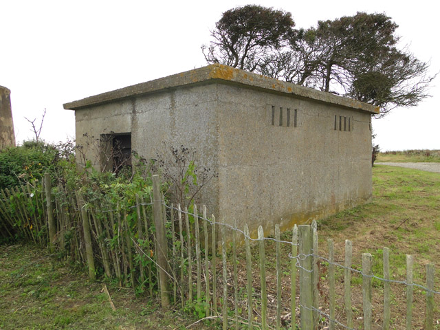Engine or generator house for the WW2 Bawdsey Battery