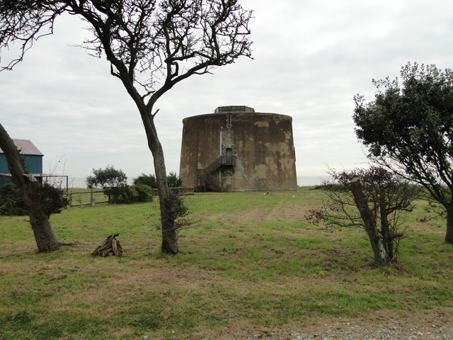 Martello Tower 'W' from landward