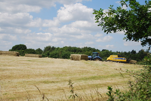 Baling, Argent Manor Farm