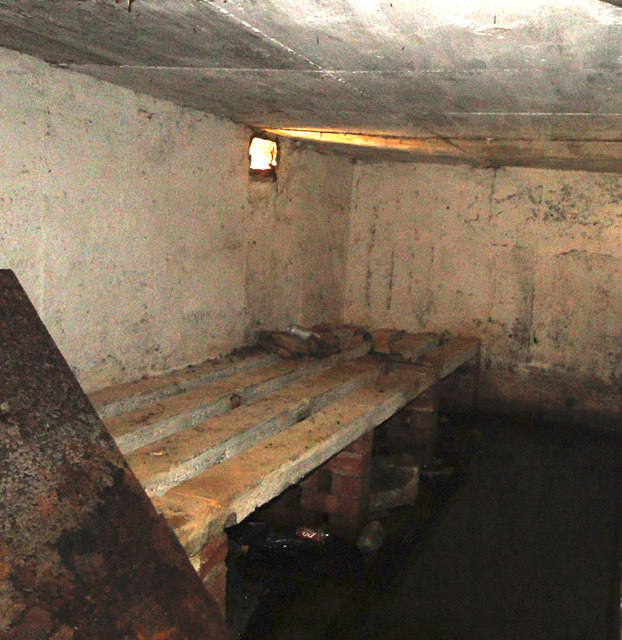One of the rooms in the battery