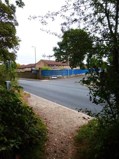Junction of Alexandra and Farnborough Roads