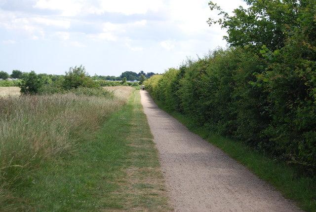 Cycle path, Alton Water