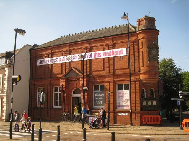Dudley Museum, heart of the Dudley Rock and Fossil Festival, 28-29 September 2013