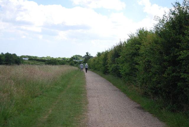 Path by Alton Water