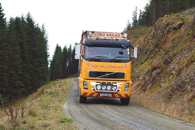 Log lorry