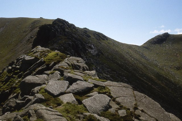 Ridge below Mullach Buidhe