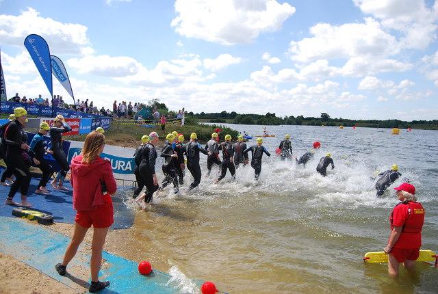 Great East Swim - The start